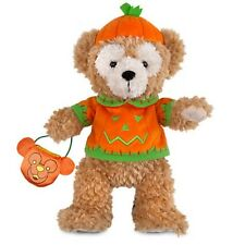 DISNEY STORE DUFFY THE DISNEY BEAR HALLOWEEN PLUSH DISNEY PARKS AUTHENTIC