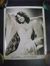 A NIGHT TO REMEMBER, orig 8x10 (Miss Jeff Donnell) - 1943 film not about Titanic