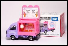 TOMICA #57 SUZUKI CARRY MOBILE CATERING TRUCK 1/55 TOMY 2014 Nov New Purple