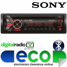 Sony Mex 55x4 Watts DAB + Radio Bluetooth CD MP3 USB AUX Reproductor Estéreo de Coche Restaurada