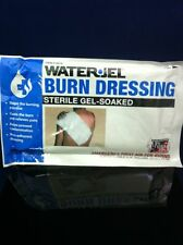 "Large 8""x18"" WATER-JEL Burn Dressing Sterile Gel-Soaked EMT See Description"