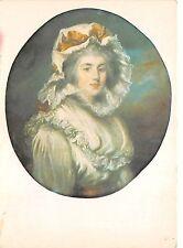 B51429 Paint Peintures John Rusell Portarait of a girl in a Bonnet