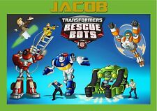 Childrens/kids A4 Transformers Rescue Bots dinner mat/place mat. Personalised