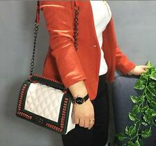 Woman chain messenger Quilted PU Leather Handbag crossbody Shoulder bags