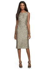 Geometric Sequin Sheath Dress by Lauren Ralph Lauren (size 14)