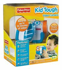 Fisher-Price Blue Kid-Tough Video Camera for Little Hands