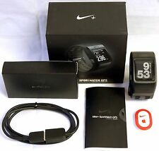 Nike+ Plus Foot Shoe Pod GPS Sport Watch Black/Anthracite TomTom fitness runner