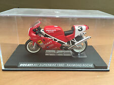 "DIE CAST "" DUCATI 851SUPERBIKE 1990  "" SCALA 1/24"