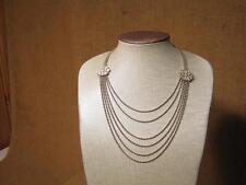 ▀█▀ ██ █▄ █▄ uraltes ausgefallenes Collier vor 1900 --Silber ? --