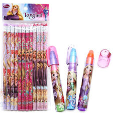 Disney Princess Tangled Rapunzel Pencil  Fragrance Eraser 15pc Stationery Set