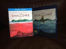 The Shallows: Blake Lively (Blu-Ray+Digital HD w/Lenticular Slipcover] Fast Ship