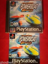 VR SPORTS POWERBOAT RACING PLAYSTATION 1 POWER BOAT PS1 PSONE PS2 PS3