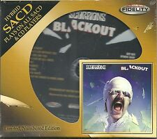 Scorpions Blackout Hybrid-SACD Audio Fidelity NEU OVP Sealed Limited Edition