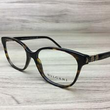 New Bvlgari 4105 Eyeglasses Frames Dark Havana 504 Authentic 54mm