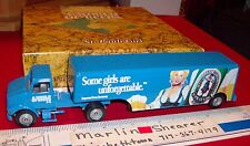 ST. PAULI GIRL BEER TRUCTOR AND BEVERAGE TRAILER  WINROSS TRUCK