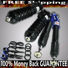 BLUE Coilover Suspension Kit for 07-08 Honda Fit 1st Gen USA Model