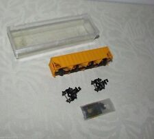 Atlas or Model Power 50' Yellow Freight Car Non Assembled Clear Plastic Box