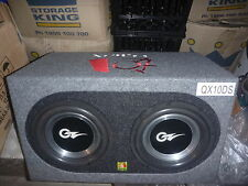 "OZ Audio 2 X 10"" VECTOR3 Series Subwoofers + QMAX SUB Enclosure"
