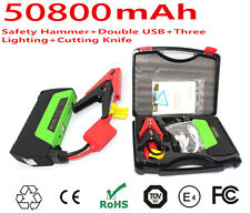 50800mAh Car Jump Starter Power Bank Battery Charger Mobile Laptop Tablet 12V