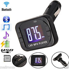 Wireless MP3 Player Auto FM Transmitter Modulator LCD Car Kit USB Ladegerät SD