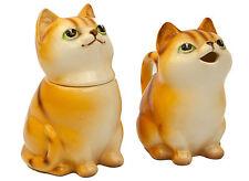 Vintage Norcrest Japan Cat Kittens Creamer & Sugar Server