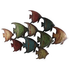 Deco 79 Metal Fish Wall Decor Home Decor and Design 26 by 18""