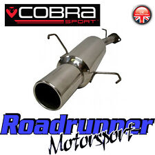 VA12 Cobra Sport Astra MK4 Hatchback 1.8 Petrol Stainless Steel Back Box Exhaust