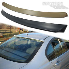 BMW E46 3-SERIES 4DR SALOON A TYPE ROOF + TRUNK BOOT SPOILER 330xi 325i 2005 ◢