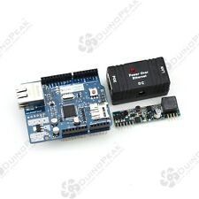 Eduino Ethernet Shield R3 Kit for Arduino support POE with POE module and Bridge
