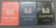 1967, 1968 & 1969 SINGAPORE MINT UNCIRCULATED SET