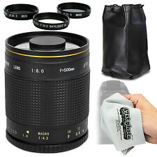 Super 500mm f/8 HD Mirror Telephoto Zoom Lens for Nikon 1 Digital Camera