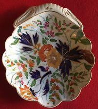 Coalport Porcelain Shell Bowl Cake Plate 1805 19th c. Imari Spode Worcester Dish