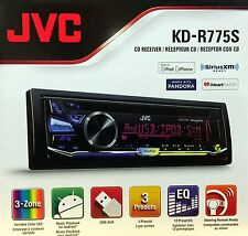NEW JVC KD-R775S Single-DIN In-Dash Stereo w/ Pandora Control & Sirius/XM Ready