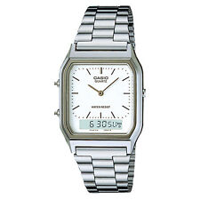 NEW Casio Mens Classic Combi Watch AQ230A-7DMQ New Uk