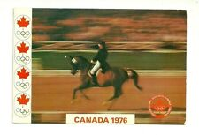 MONTREAL OLYMPIC 1976 EQUESTRIAN SPORTS, QUEBEC, CANADA CHROME POSTCARD