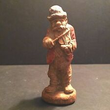 1940's Syroco Wood Hillbilly Band Figure Fiddler Clem Atlantic City Souvenir