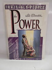 The Power Comic Book Two 2 Invisible People Will Eisner Faith Healer Story