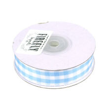 Gingham Ribbon Checkered Ribbon, 5/8-Inch, 15 Yards