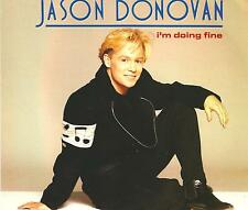 JASON DONOVAN - I'm doing fine