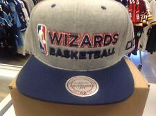 WASHINGTON WIZARDS SWEATSHIRT STYLE HAT BY MITCHELL AND NESS