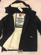 Superdry Sherpa Windcheater Black Size XXL