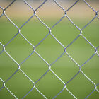 GALVANISED CHAIN LINK 2.5mm WIRE FENCE FENCING 1.2m (4ft) high x 10m Long