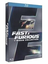 Blu Ray FAST AND FURIOUS  *** Collection 1- 7 (2015) Blu Ray 7 Film ***....NUOVO