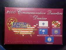 2000 COMMEMORATIVE STATE QUARTERS DENVER MILLENNIUM EDITION SET - R158DCZ