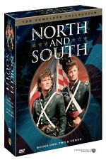North and South: The Complete TV Series Books 1 2 3 Box/DVD Set Collection NEW!