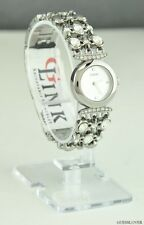 NWT Ladies Watch GUESS Silver Stainless Steel New U0220L1