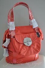 MIMCO Luxe Lock Tote Baby Bag Shoulder Handbag Poppy BNWT RRP $249.00