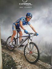 ORBEA RACING CYCLE GENUINE POSTER- RARE TO FIND, BIG 600MM X420MM, BICYCLE