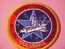 SPACE SHUTTLE COLUMBIA EMBROIDED IRON ON PATCH  3 IN
