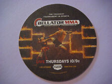 Beer Coaster Mat ~ BELLATOR MMA Live on Spike ~ Toughest Championship Tournament